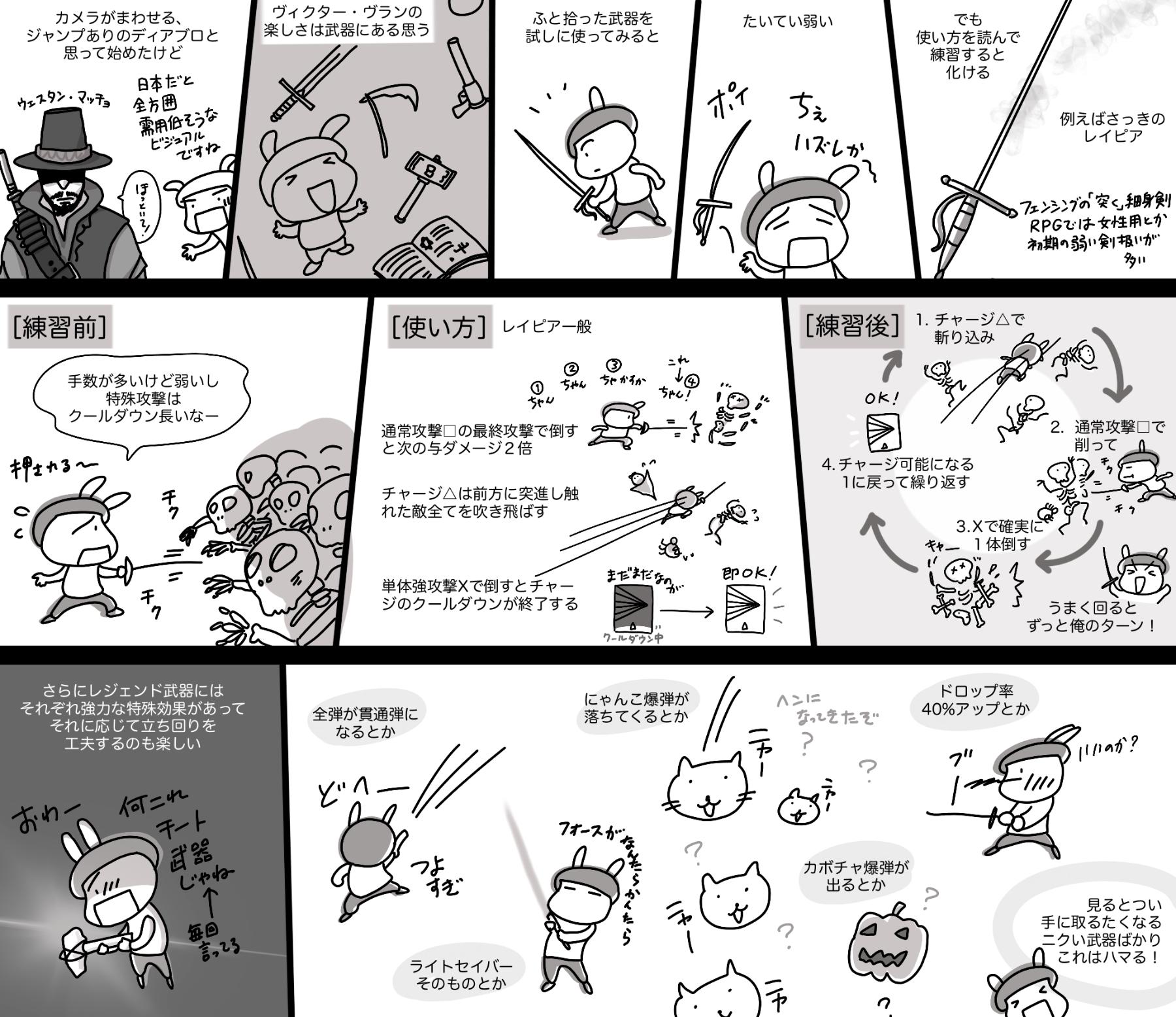 ヴィクター・ヴラン紹介漫画