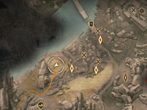 あの変な武器について[ドラゴンエイジ:インクイジション]設計図の地図上の場所